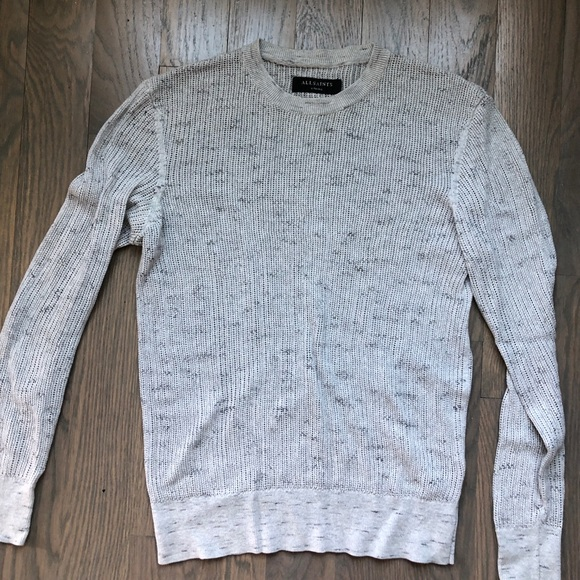 All Saints Other - ALL SAINTS LIGHT GREY SWEATER XTRA SMALL